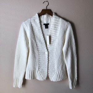 NWT New York & Company One-Button Cardigan size S